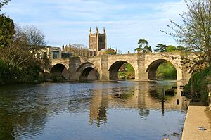 Hereford - Image: Wye Bridge, Hereford