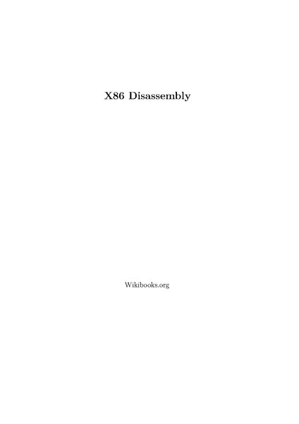 File:X86 Disassembly.pdf