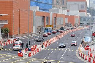 筆者知道「D1A(N)路」和「D1A(S)路」屬臨時性質,但仍對其沒有正式的名稱感到有點不滿。 (圖片:Hokachung@Wikimedia)