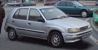 Tianjin FAW - Xiali TJ7101/7131 hatchback