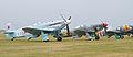 Yaks on the flightline - 2013 Flying Legends (14102721246).jpg