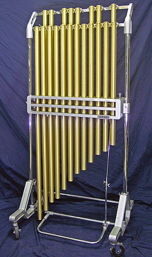 Tubular bells - Image: Yamaha Deagan chimes (from LA Percussion Rentals)
