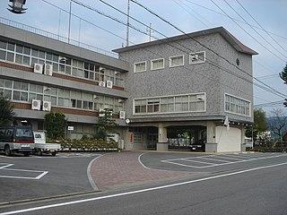 Yaotsu, Gifu Town in Chūbu, Japan