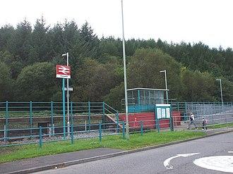 Ynyswen railway station - Image: Ynyswen railway station in 2008