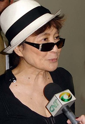 Yoko Ono - Yoko Ono at the Museum of Contemporary Art of the University of São Paulo, Brazil, in 2007