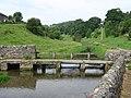 Youlgrave - footbridge at bottom of Bradford Road - geograph.org.uk - 907376.jpg