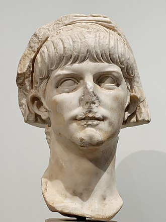 Britannicus - Bust of the young Nero