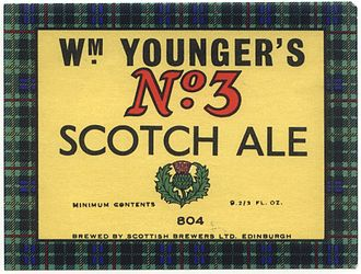 Pale ale - Younger's Scotch Ale label