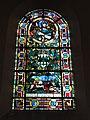 Ypreville-Biville (Seine-Mar.) église d'Ypreville, vitrail 02.jpg