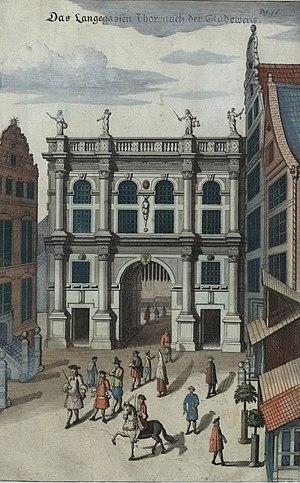 """Abraham van den Blocke - The """"Golden Gate"""" built by van den Blocke in 1612-14"""
