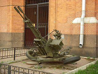 ZU-23-2 Towed 23mm Anti-Aircraft Twin Autocannon