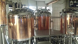 Craft brewery and microbrewery Brewery that produces small amounts of beer