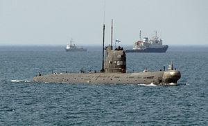 Ukrainian submarine Zaporizhzhia - Image: Zaporizhya