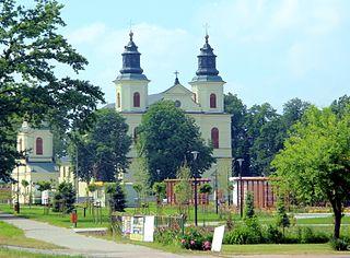 Zbuczyn Village in Masovian, Poland