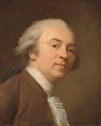 Johann Friedrich August Tischbein - Self-portrait (1782)