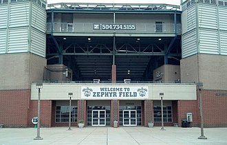 Shrine on Airline - Image: Zephyr Field Metairie, LA (New Orleans, LA Suburb)