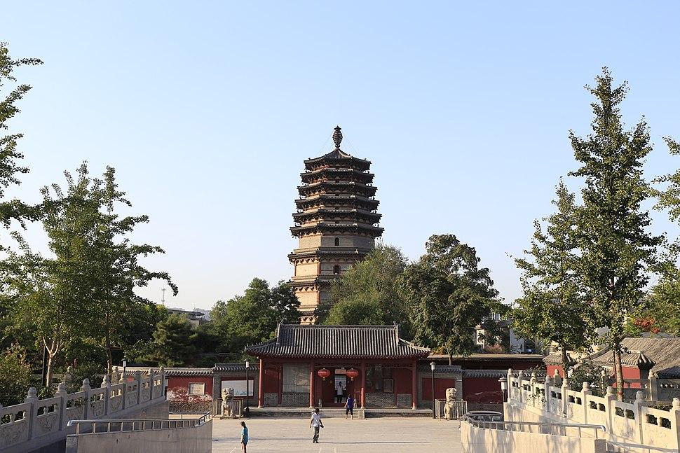 Zhengding Tianning Si Lingxiao Ta 2013.08.31 17-27-12