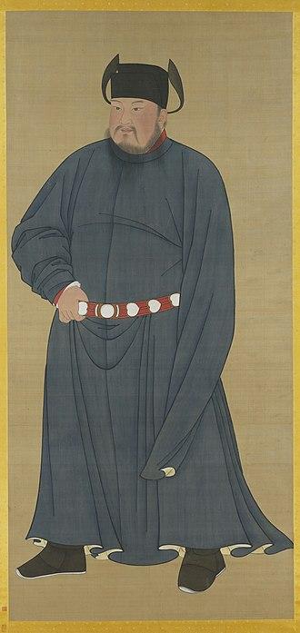 Li Cunxu - Image: Zhuangzong of Later Tang
