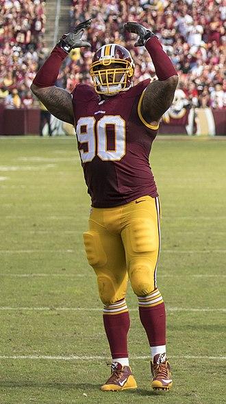 Ziggy Hood - Hood with the Redskins in 2016