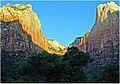 Zion N.P. Side Canyon, First Light 4-30-14zl (14215928376).jpg