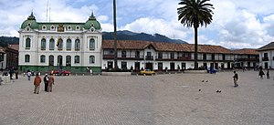Zipaquirá - Main square of Zipaquirá