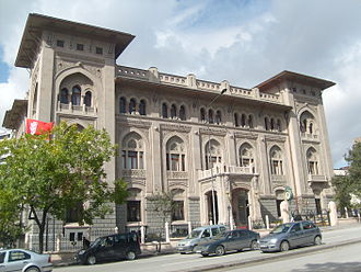 History of Ankara - The historic Ziraat Bank Building (1929).