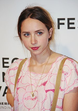 English: Zoe Kazan attending the premiere of T...