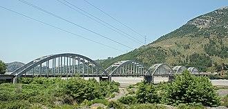 Mirditë District - Image: Zogu Mat Bridge
