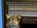 Zsolnay ceramic frieze and capital, Palace of Art, 2013 Budapest (335) (13228140784).jpg