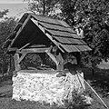 """""""Šev?nca"""" (sušilnica) od zadnje strani, Male Vodenice 1956 (cropped).jpg"""