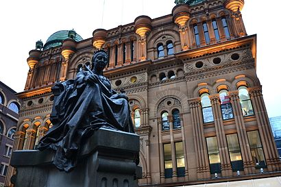 How to get to Queen Victoria Building with public transport- About the place