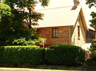 St Paul's Anglican Church, Castle Hill - Image: (1) Former Parsonage A