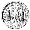 Aarhus city seal from 1421