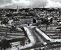 École Matabiau, vue du pont et de l'école en 1953.jpg