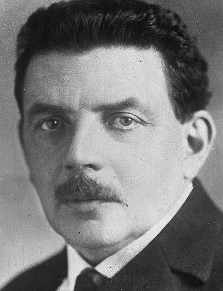 French Prime Minister Édouard Herriot (1872-1957).