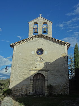 Église Saint-Jacques, à Espinouse (village).