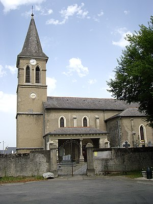 Horgues - The church of Saint-Mauront