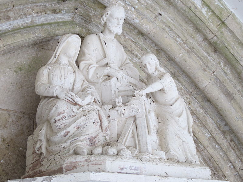 église Saint-Pair de Morville (Manche, France)