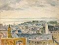 Émile Compard Brest et la rade vus de l'ancien musée 1938.jpg