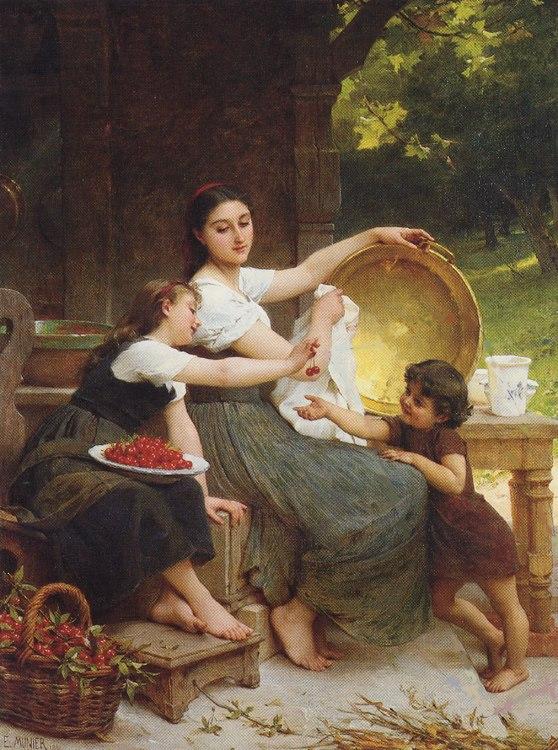 Émile Munier, 1891 - Les Confitures