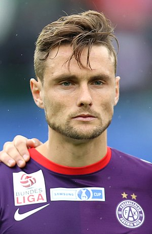 James Holland (footballer) - Holland with Austria Wien in 2013