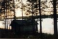 Ömossa. Sjön Lilla Sandjärv i december 1991. Bild 3..jpg