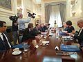 Συνάντηση Υπουργού Εξωτερικών Ν. Κοτζιά με Υπουργό Εξωτερικών του Βελγίου D. Reynders (ΥΠΕΞ, 02.07.2015) (18730402993).jpg