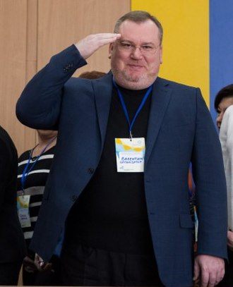 Governor of Dnipropetrovsk Oblast - Image: Валентин Резніченко