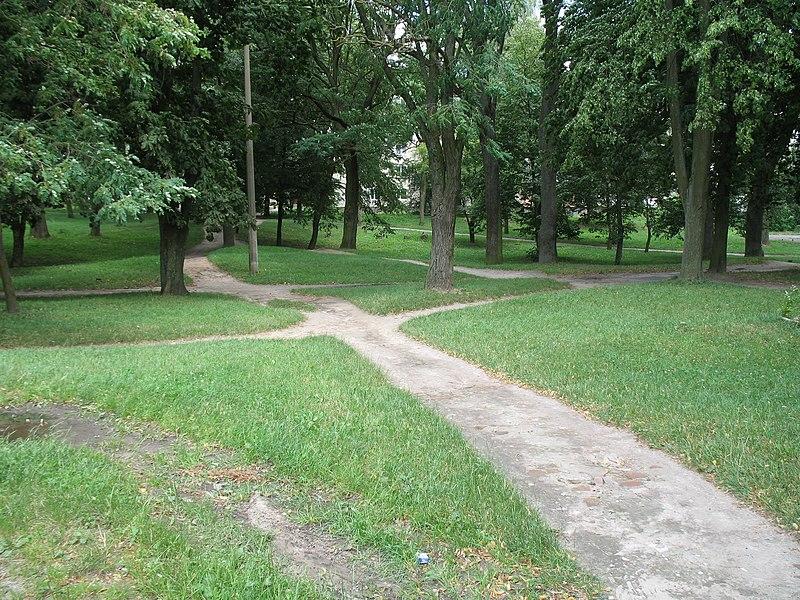 Парк на місці єврейського цвинтаря