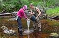 Гидробиологические исследования на реке Пележма 01.jpg