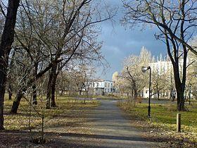 кременчуг городской сад озеро фото