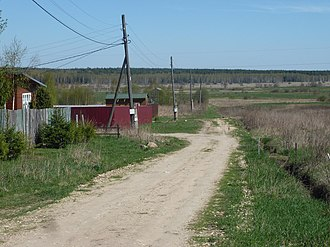 Kirzhachsky District - Buhulovo village, Kirzhachsky District