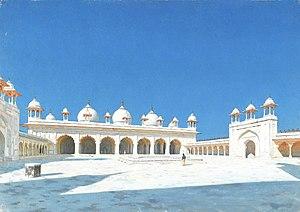 Moti Masjid (Agra Fort) - 19th-century painting of the Moti Masjid by Vasily Vereshchagin