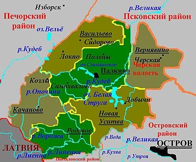 палкино псковской обл карта